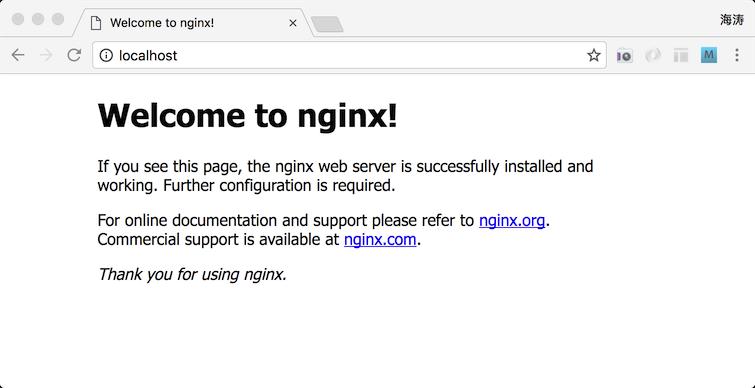 docker nginx webserver